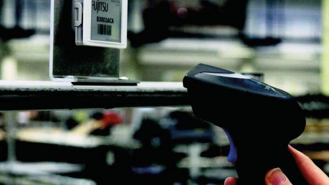 Elektronikus polccímke leolvasása vonalkódolvasóval